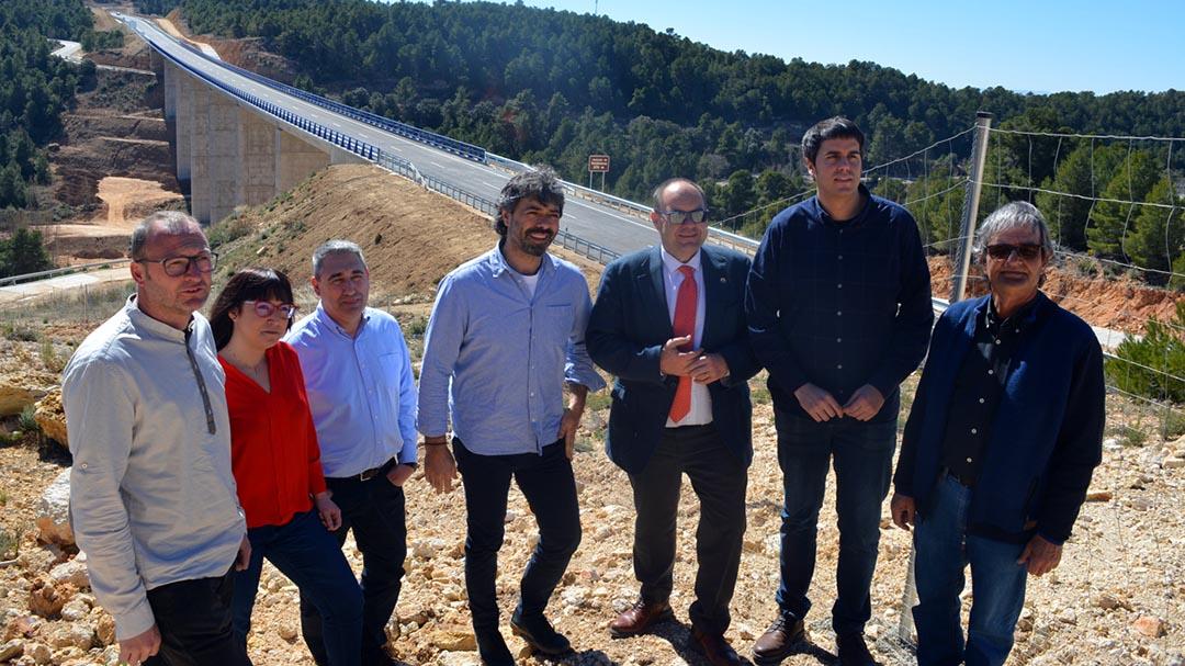 Dia històric per a les comunicacions entre Morella i Aragó amb l'obertura de la N-232