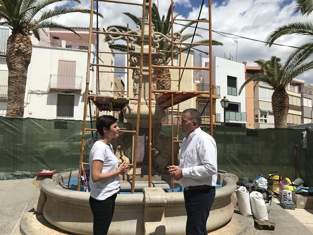La Diputació restaura la Font de San Miguel de Canet