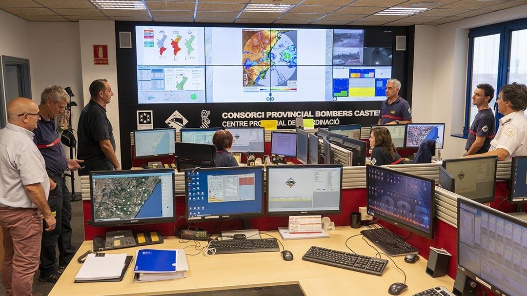Reunió de coordinació per a supervisar els possibles efectes de la DANA a Castelló