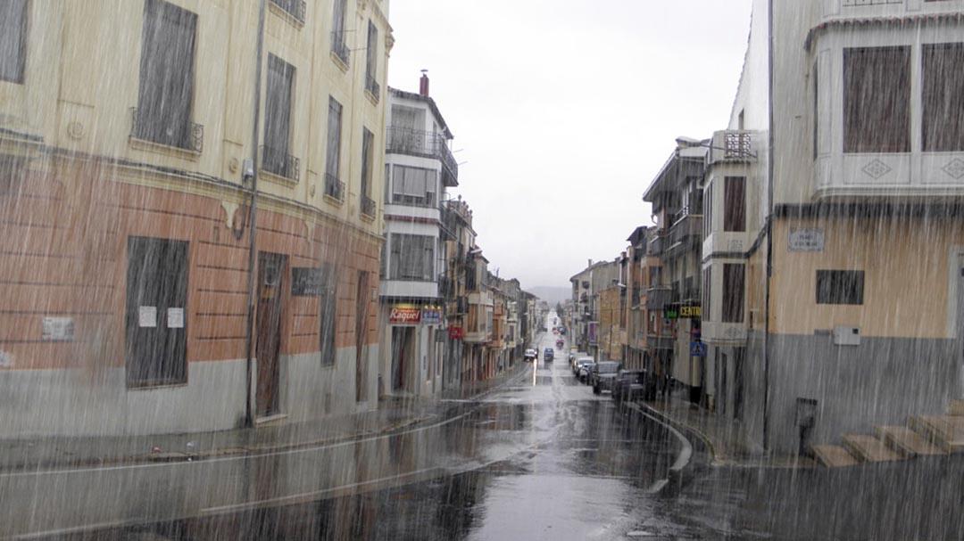La gota freda està deixant als Ports fins a 38,2 l/m2 recollits a La Tinença