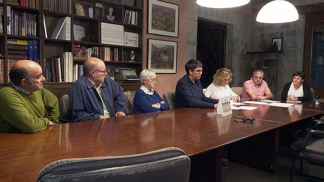 Els Gaiteros i la Rondalla signen els convenis de col·laboració amb l'ajuntament de Morella