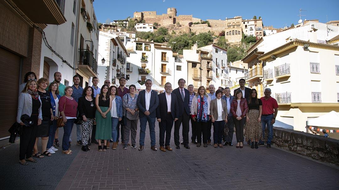 Morella participa en l'Assemblea regional de Los Pueblos Más Bonitos de España a Vilafamés